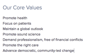 Lown Institute Core Values