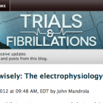 New Post up on Trials and Fibrillations: My Choosing Wisely list for electrophysiology