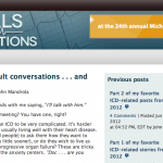 New Trials and Fibrillations Post: ICD decison-making…Whose decision is it?